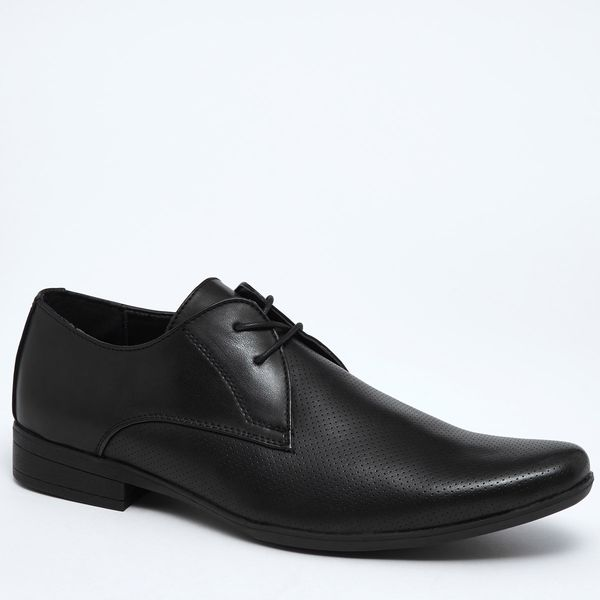 Punched Laced Formal Shoe