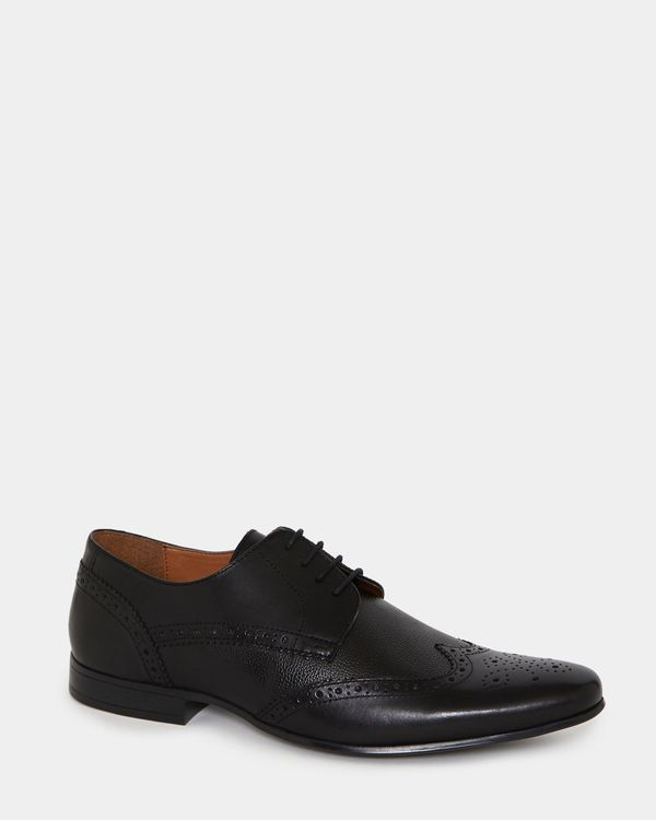 Lace Leather Brogues