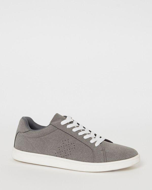 Lace Suede Effect Shoes
