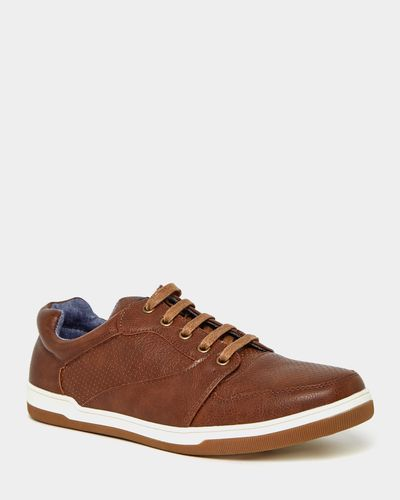 Punched Casual Lace Up Shoes