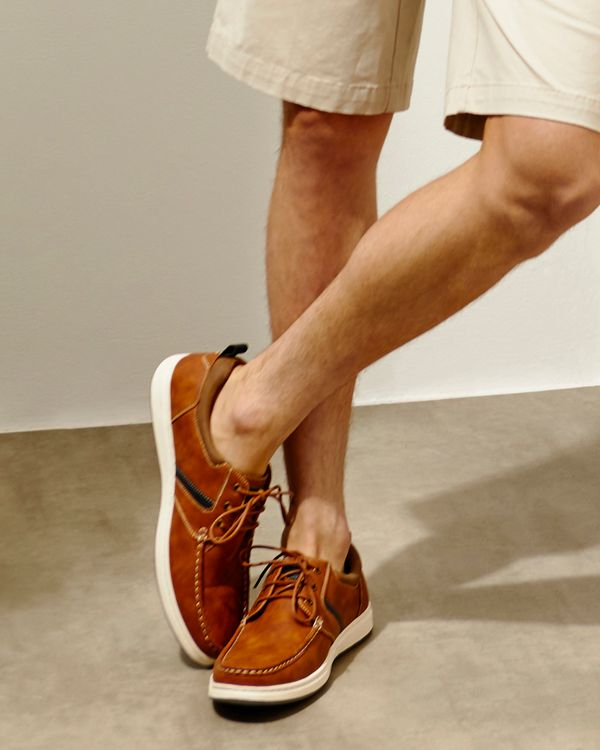 Lace Casual Deck Shoes