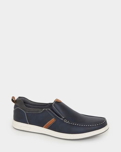 Slip-On Casual Deck Shoes