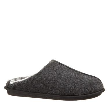 greyMen's Scoop Back Mule Slippers