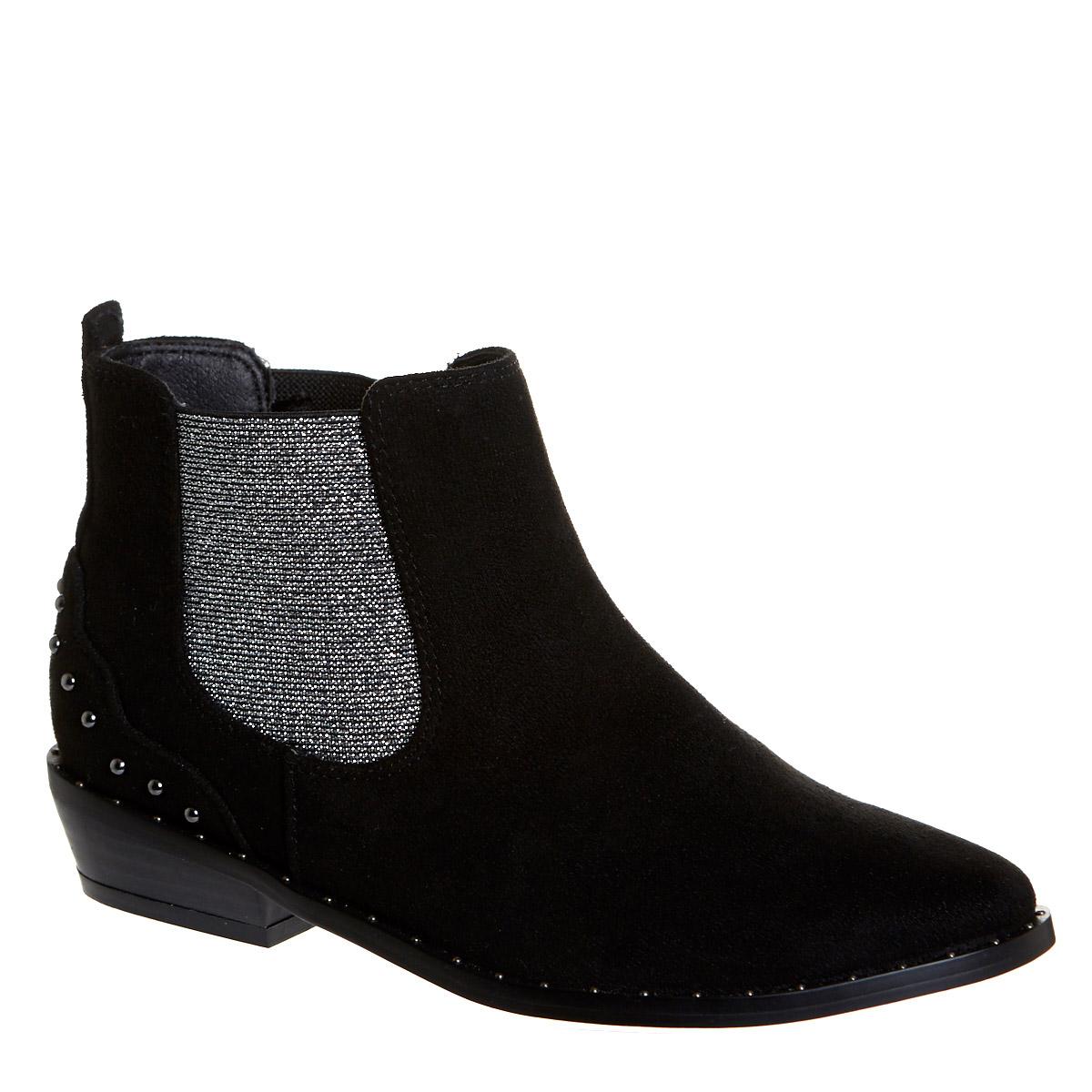 Black Older Girls Western Boots