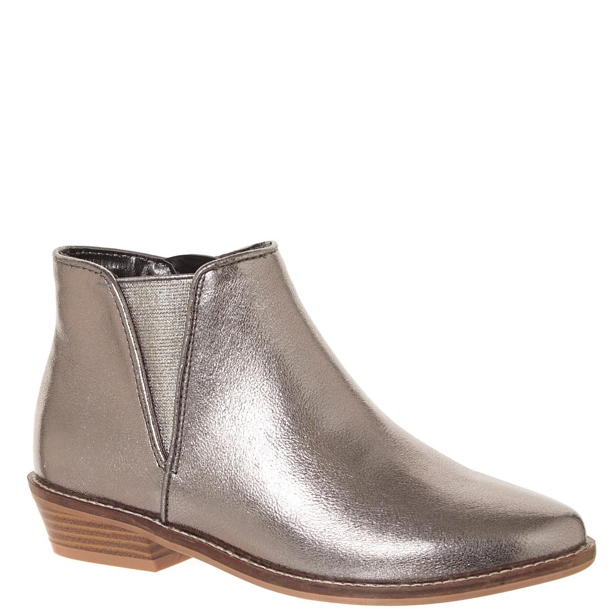 Metallic Older Girls Chelsea Boots