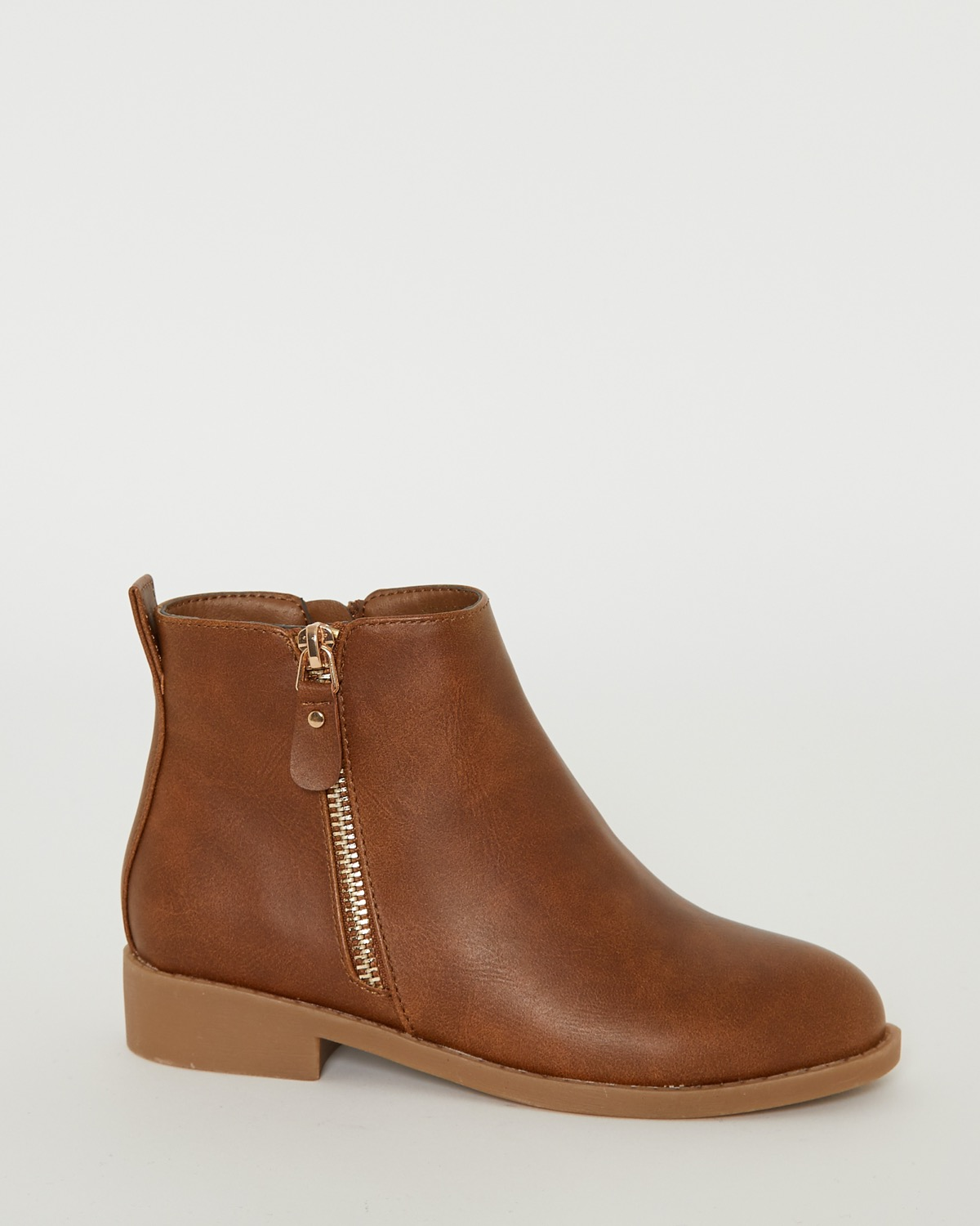 Dunnes Stores | Tan Older Girls Ankle Boots