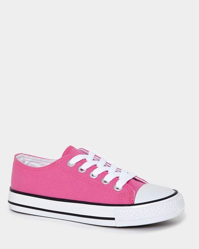 Girls Toe Cap Canvas Shoes
