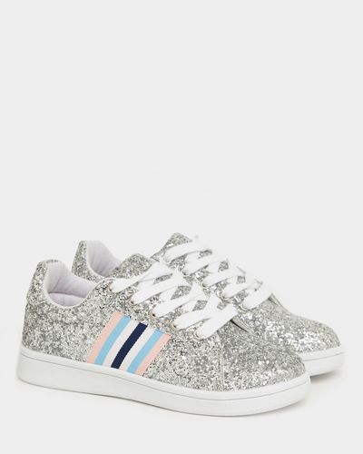 Glitter Woven Tape Shoes