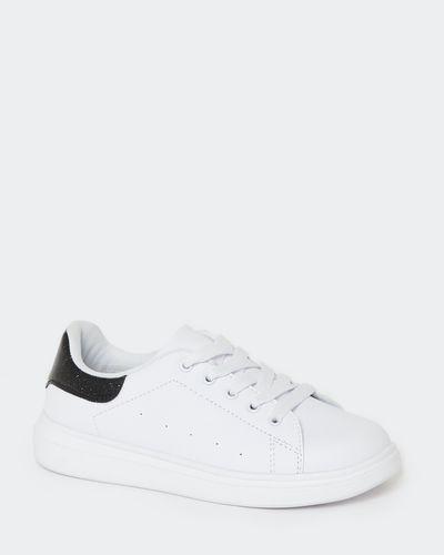 White Chunky Outsole Shoe