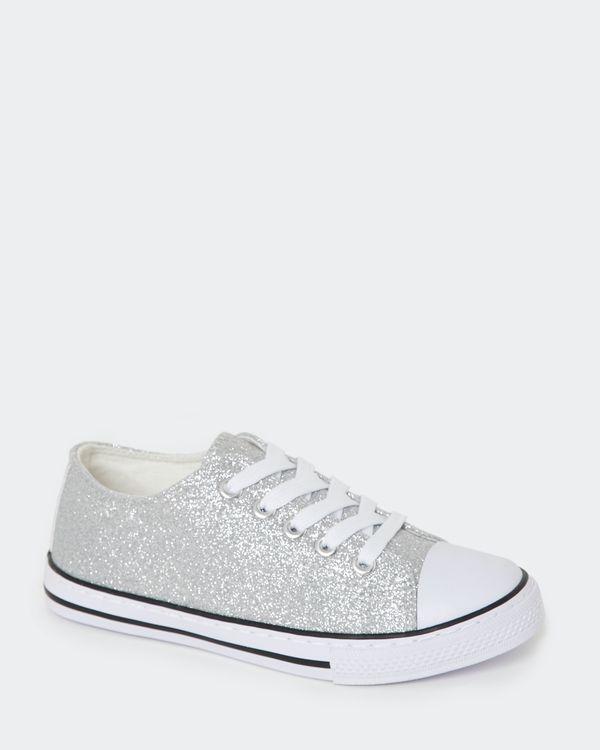 Glitter Toe Cap Shoes