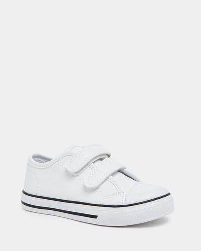 Girls Strap Toe Cap Shoe
