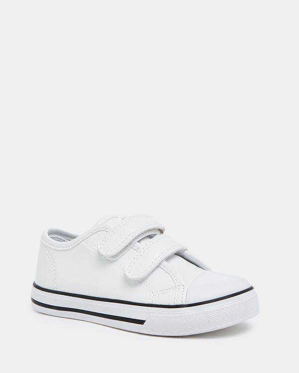 Girls Strap Toe Cap Shoe (Size 8-5)