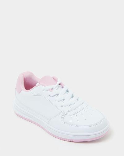 Girls PU Trainer Shoe (Size 13-5)