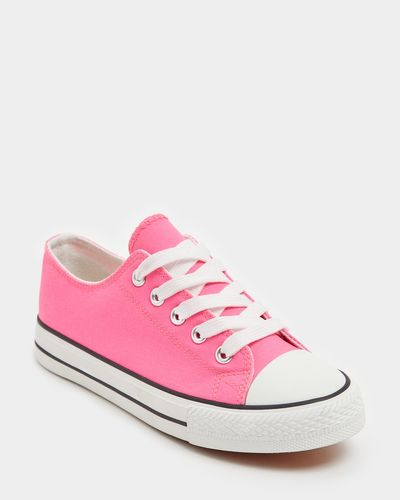 Girls Toe Cap Canvas (Size 8-5)
