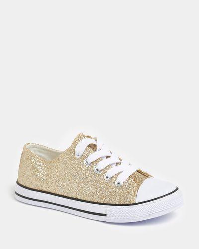 Glitter Toe Cap Shoes (Size 6 Infant - 5)
