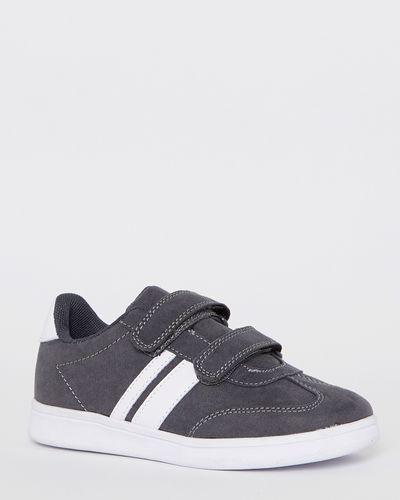 Boys Suedette Strap Shoes