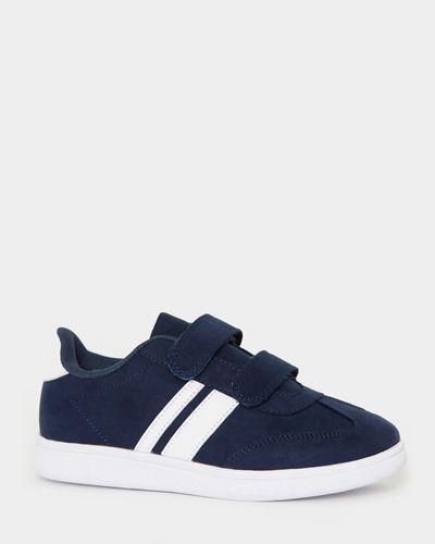 Mock Suede Strap Shoes