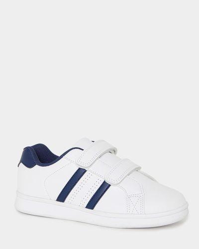 White PU Strap Shoes