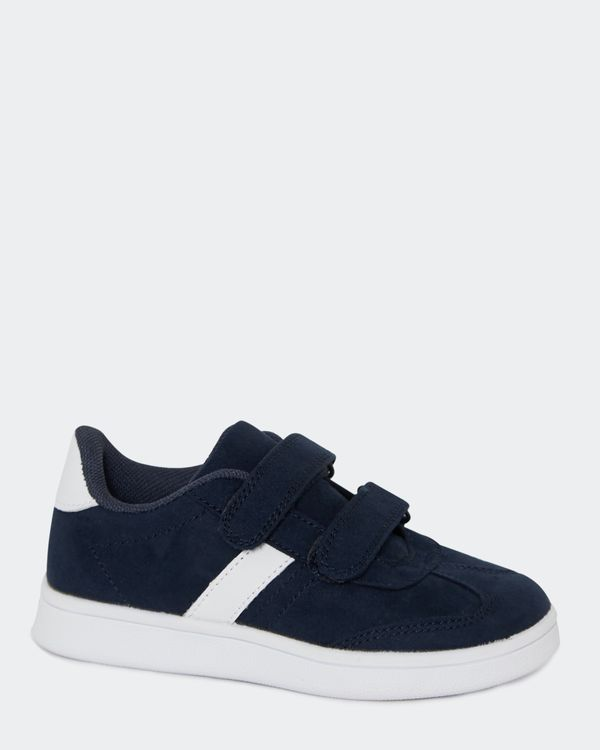 Boys Mock Suede Shoe