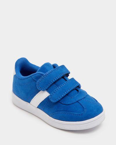 Boys Mock Suede Shoe (Size 8-5)