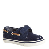 navy Canvas Boat Shoes