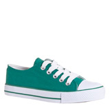 green Toe Cap Canvas Shoes