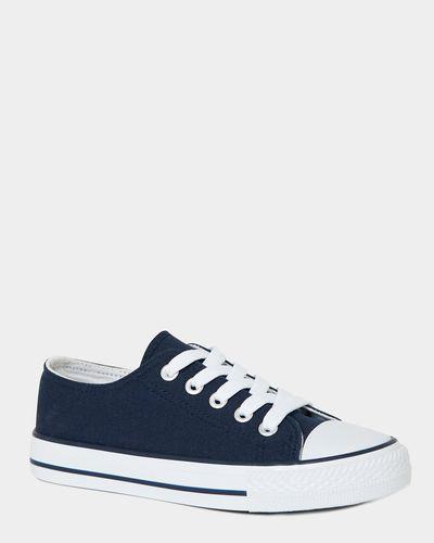 Boys Toe Cap Canvas Shoes