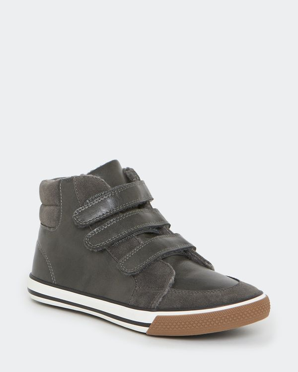 Boys High Top Boots