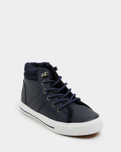 PU High Top Shoes