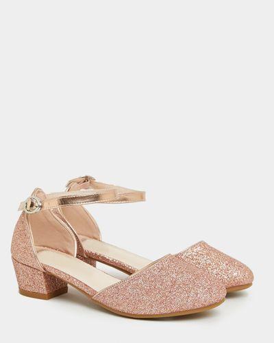 Glitter Heel Shoes