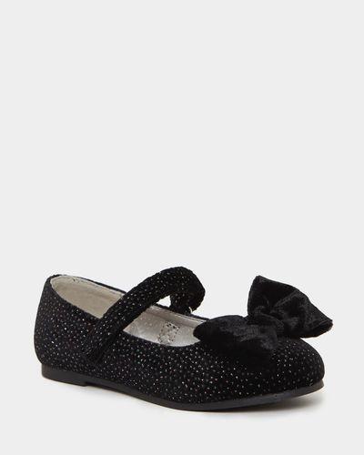 Velvet Ballerina Shoes