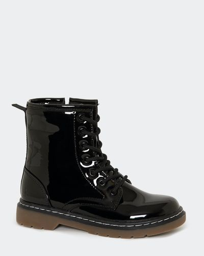 Younger Girls Lace Boots thumbnail