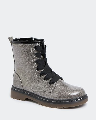 Younger Girls Lace Boots