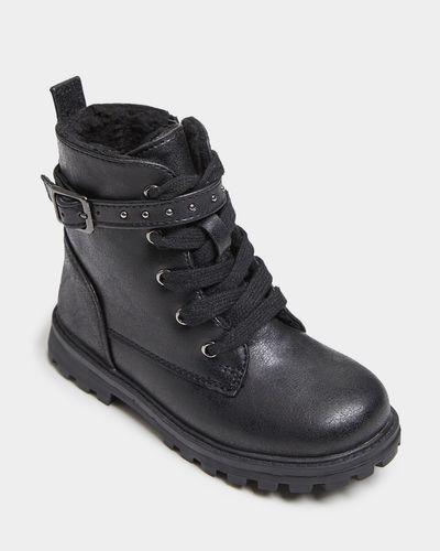 Girls Fashion Biker Boot