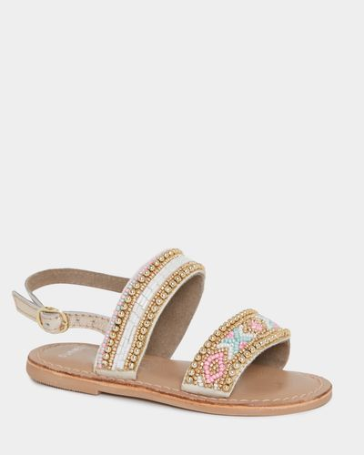 Younger Girls Leather Sandal