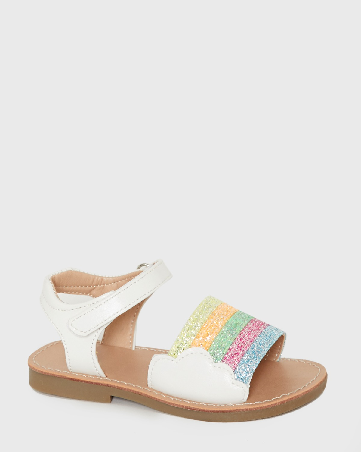 Younger Girls Rainbow Sandals