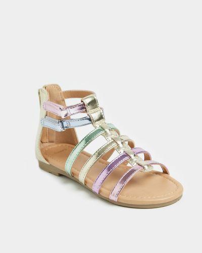 Girls Gladiator Sandal (Size 8-2)