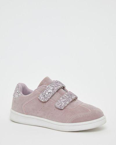 Younger Girls Glitter Strap Shoe
