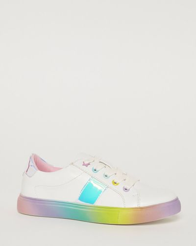 Younger Girls Rainbow Shoes