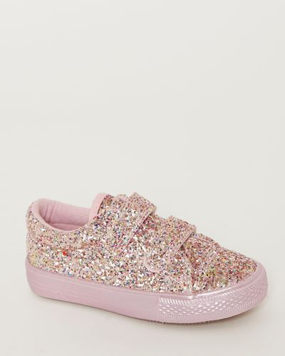 Younger Girls Glitter Shoes