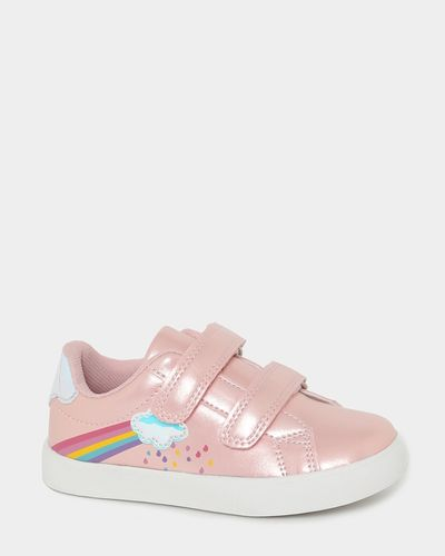 Younger Girls Rainbow Strap Shoes