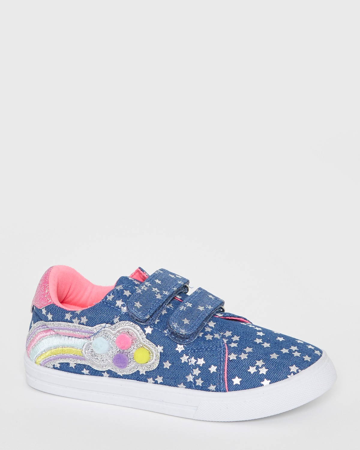 Denim Younger Girls Fashion Canvas Shoes