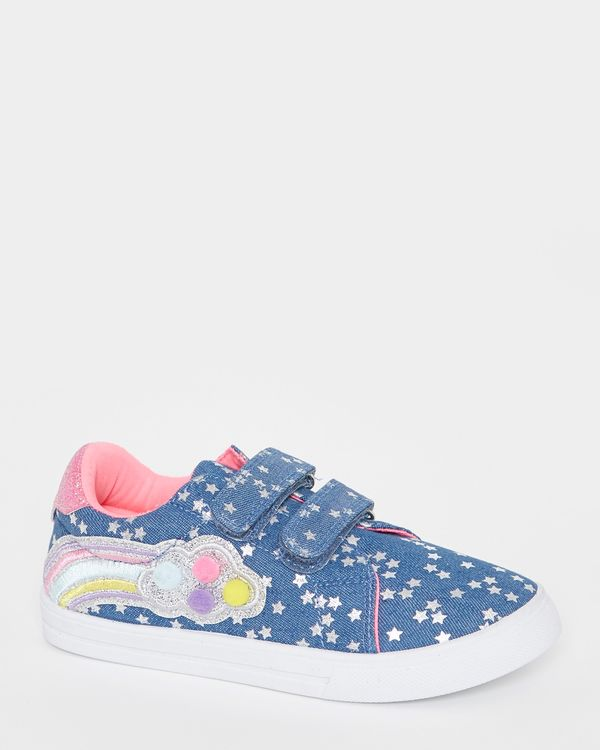 Younger Girls Fashion Canvas Shoes