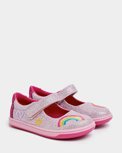 Younger Girls Sparkle Mary Jane Shoes