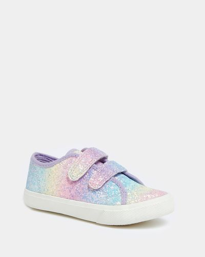 Younger Girls Glitter Shoe
