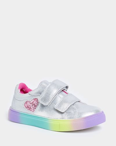 Younger Girls Rainbow Sole Shoes thumbnail