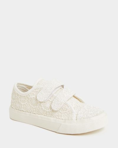 Girls Occasion Canvas Shoes (Size 8-3)