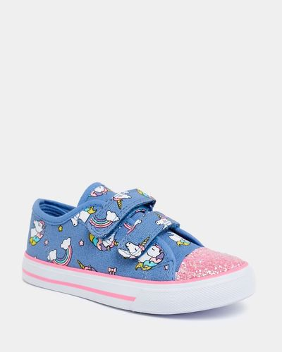 Girls Fashion Canvas Shoes (Size 8-2)