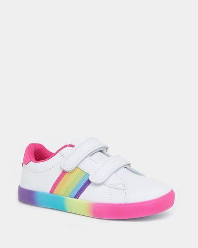 Girls Rainbow PU Shoe