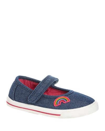 Baby Girl Mary Jane Canvas Shoes
